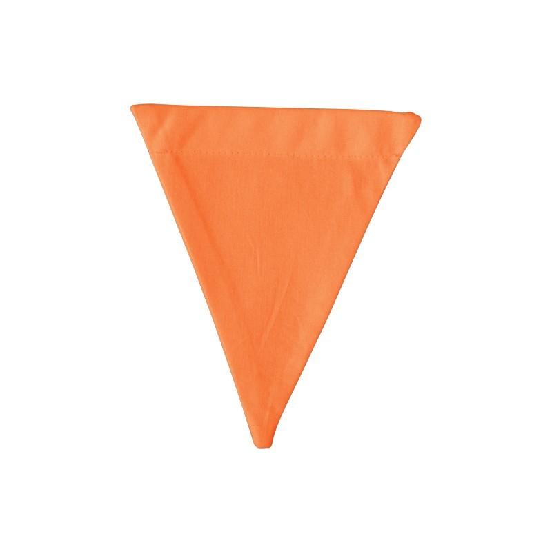 Banderín de tela Orange
