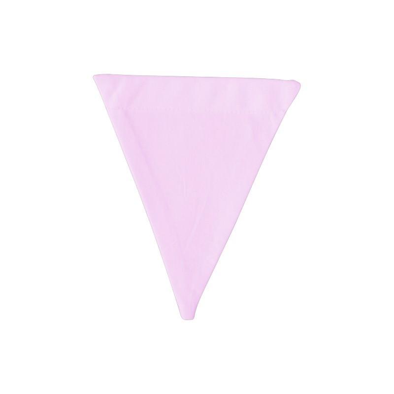 Banderín de tela Rose pale