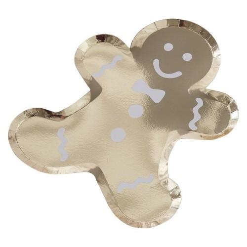 Plato Gingerbread dorado