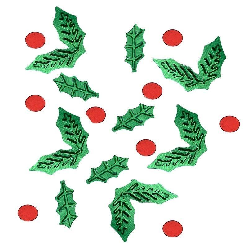Confetis mini acebos