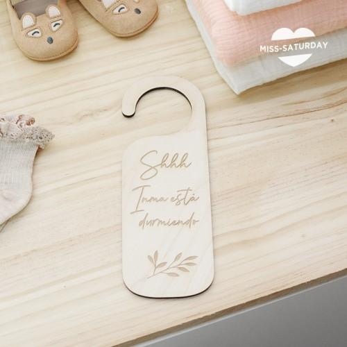 Colgante puerta Bebé personalizado