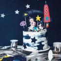 Toppers tarta Espacio