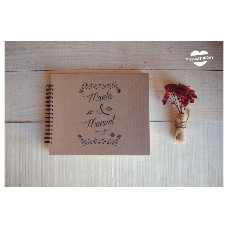 Álbum personalizado Fleurs K