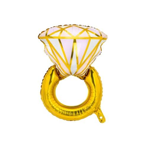 Globo grande Diamante Rosa