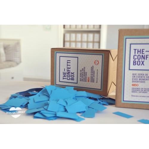Confeti box Azul