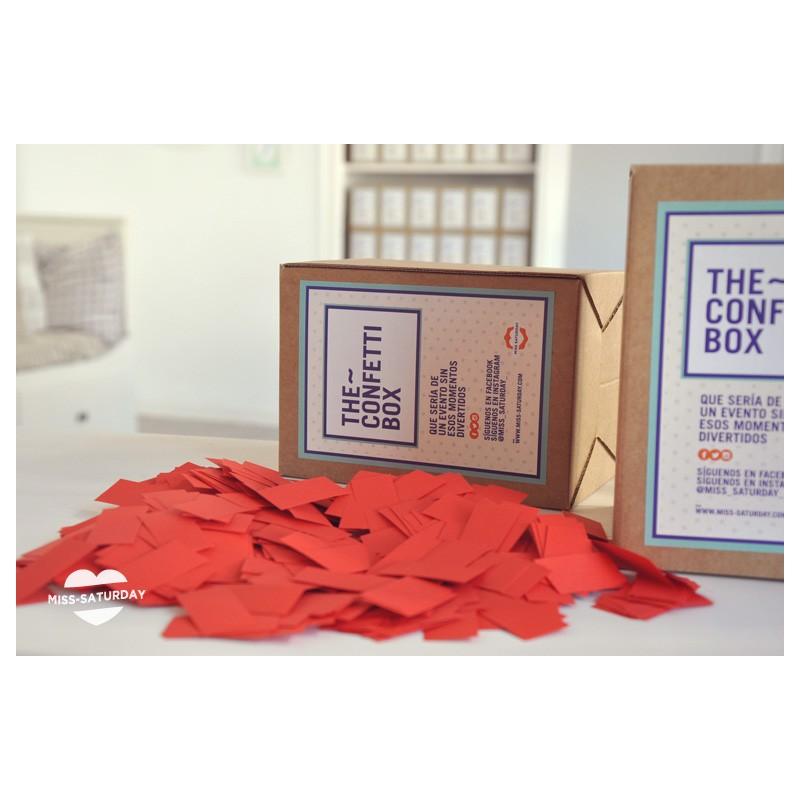 Confeti box Rojo