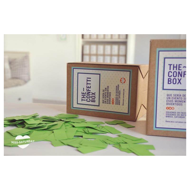 Confeti box Verde