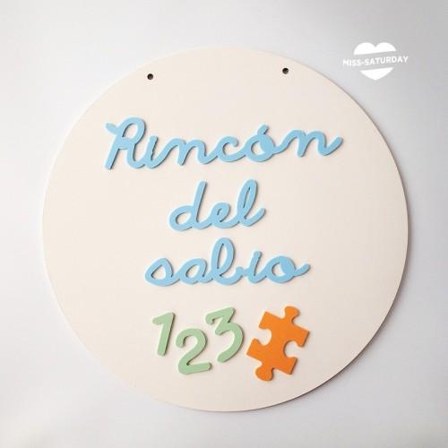 Cartel relieve Rincón del sabio