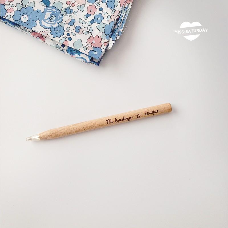 Bolígrafo personalizado Bautizo