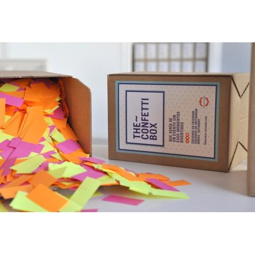 Confeti box Fluor Mix