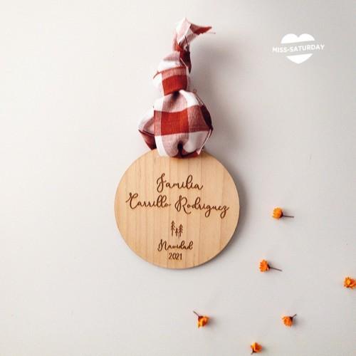 Bola Navidad Personalizada - Familia
