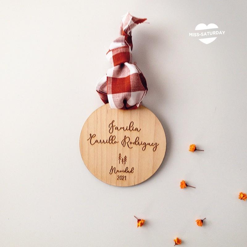 Bola Navidad - Familia