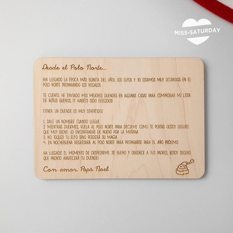 Carta de llegada del duende