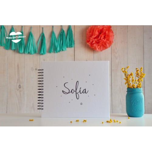 Álbum personalizado Sofía