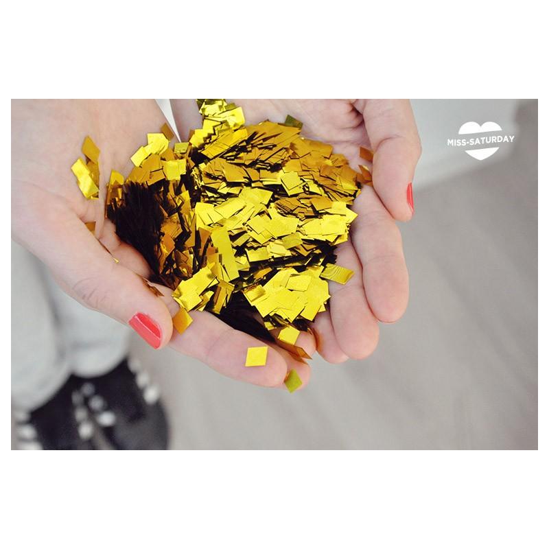 Confeti dorado boda