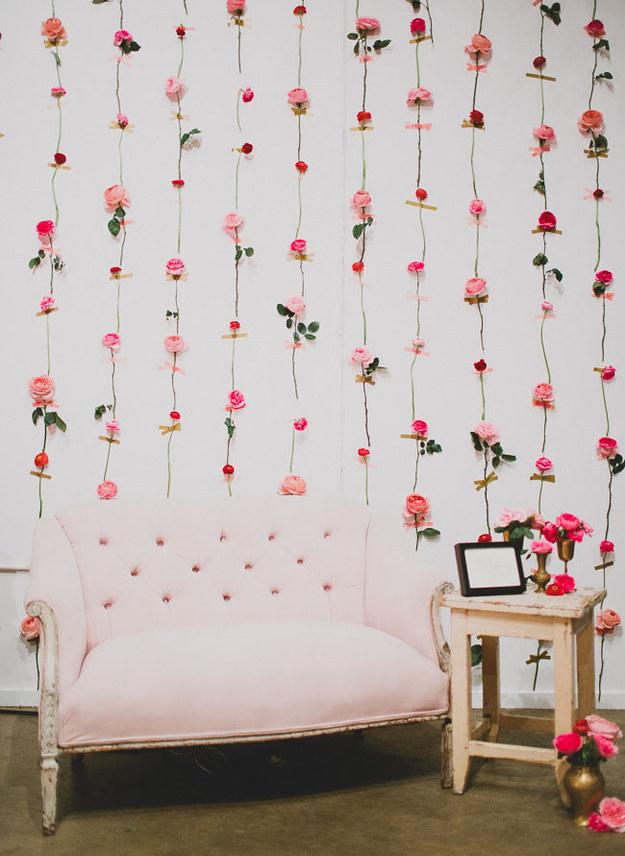 photocall-con-flores