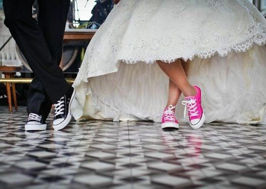 zapatillas para novia boda