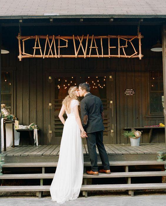 boda campamento ideas