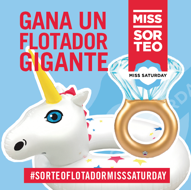 flotador miss saturday verano