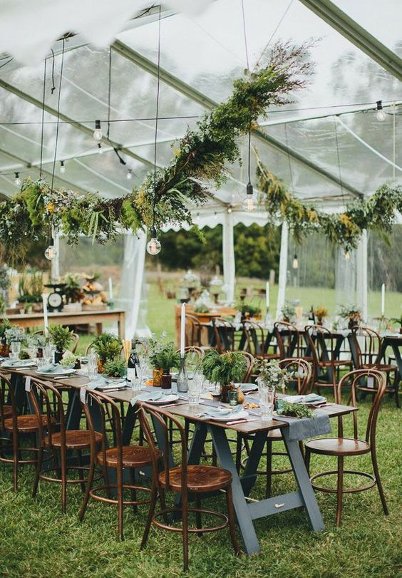 carpa para boda rústica