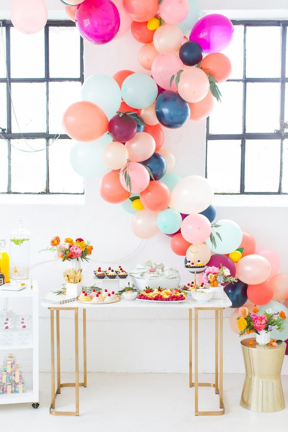 decoración globos boda miss saturday
