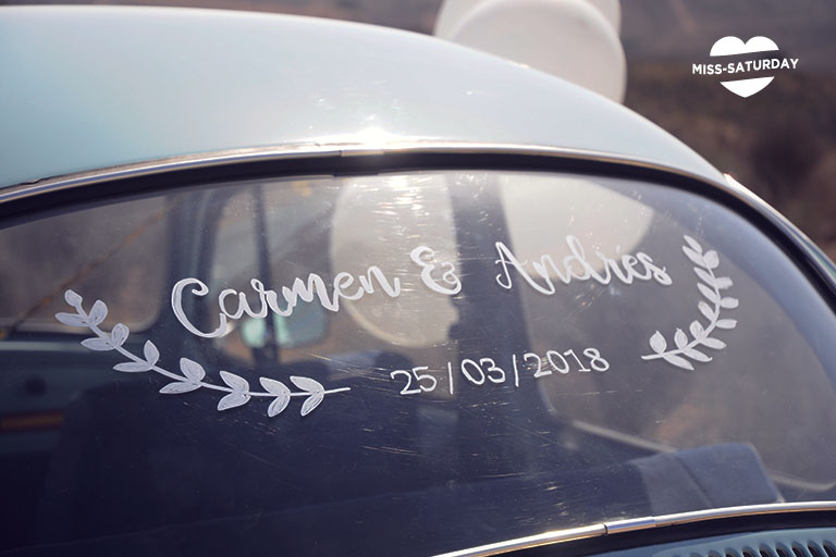 decora tu coche de ceremonia