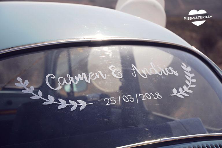 decora tu coche de ceremonia
