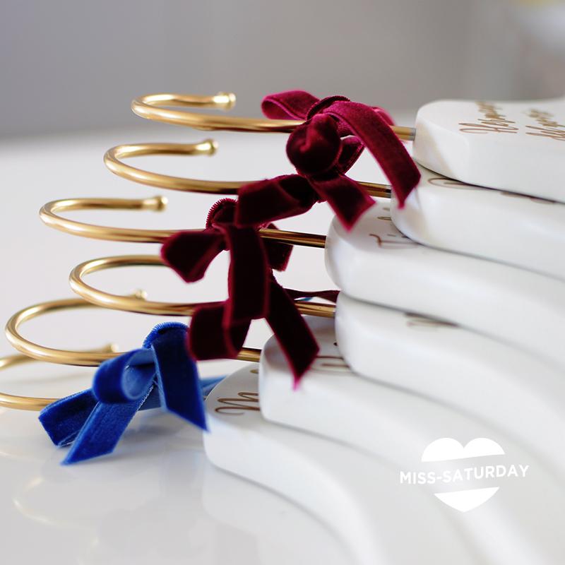 perchas personalizadas boda miss saturday